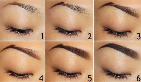 Татуаж бровей ( перманентный макияж):фото до и после