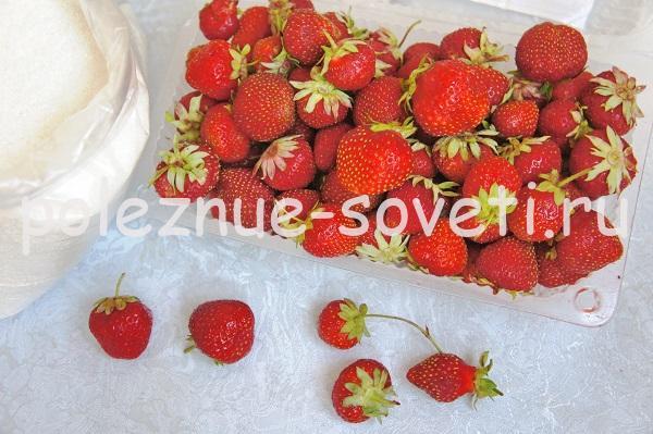варенье из клубники с целыми ягодами классическое