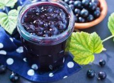 Варенье из черной смородины: простой рецепт пятиминутка