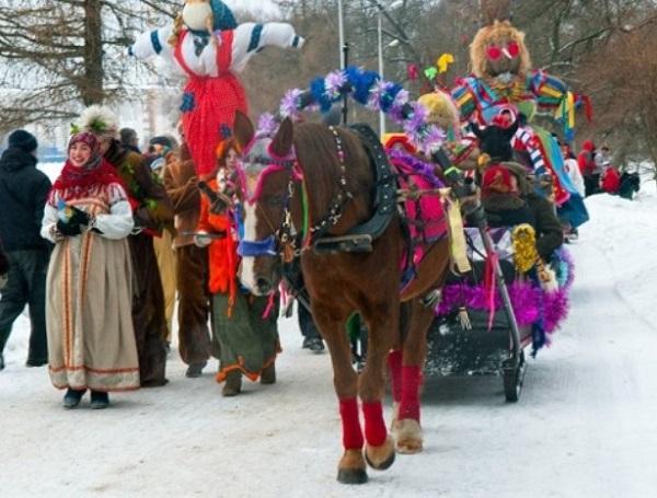 Народные праздничные гуляния